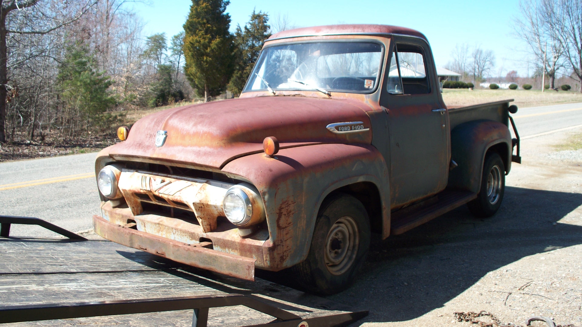 Flashback F10039s New Arrivals Of Whole Trucks Parts Or 1964 Ford Short Bed Another Clean 69 Long F 250 From Nevada With Very Nice Sheet Metal Hood Was Already Missing Only Truck Brought In 03 08 13 All