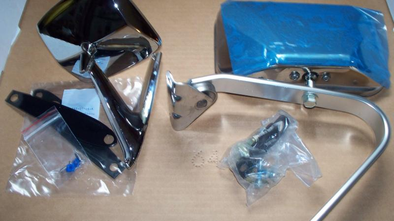 67-79 small car mirror and Original 73/79 Swing Mirror