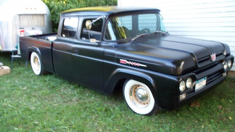 1966 ford f100 flat black submited images pic2fly